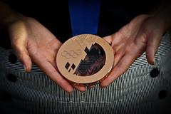 Bronze (Gabe Oram Photography) Tags: usa bronze olympics luge sochi olympian 2014 bronzemedal erinhamlin