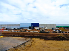 Masters - First Suburban Building (RS 1990) Tags: blue building store airport construction july adelaide masters 25th friday southaustralia homeimprovement 2014 sirdonaldbradmandr