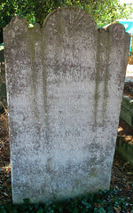 Willshire headstone