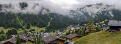 View of Morgins from Graemes Chalet (crcmuir) Tags: