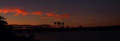 P7037468_P7037471_interstate_bridge_color (caligula1995) Tags: sunset panorama jantzenbeach 2013