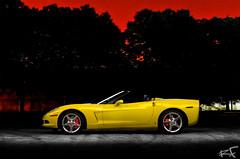 DSC_0007 copy (Ray Flores) Tags: light flores chevrolet yellow painting nikon ray automotive 2006 velocity corvette c6 d7000 1083photo rayfloresphoto