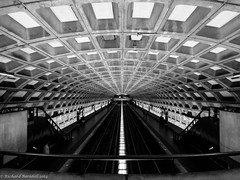 Judiciary Square (wolfpackWX) Tags: white black square dc washington metro tracks dcist judiciary