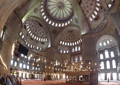Blue Mosque Photomerge (sssdc1) Tags: blue turkey istanbul mosque select