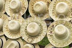 Hats (Villorejo) Tags: new sea summer vacation woman brown sun white holiday classic tourism beach hat fashion garden relax one design clothing beige pattern view weekend top background object empty wide decoration straw style nobody clothes safari cap leopard bow round rest panama woven relaxation wicker weave isolated protect headdress headwear accessory brim