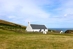 Holy Cross Church at Mwnt (Vertigo Rod) Tags: sea west beach wales secret cymru holycrosschurch ceredigion cardigan cymraeg secluded mwnt