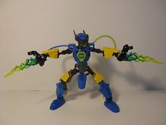 Electric Hero Guy (ExclusivelyPlastic) Tags: robot factory lego hero bionicle
