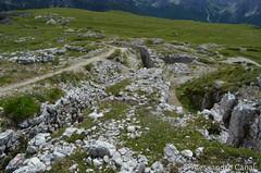 Ancora trincee sul Monte Piana