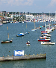 'Welcome To Lymington' (EZTD) Tags: england ferry boats sailing foto crossing photos harbour hampshire photographs fotos wightlink yachts lymington 2014 fotograaf hants yachties photoe lymingtonpier lymingtonharbour eztd photograaf eztdphotos lymingtonite welcometolymington solentsnobs