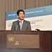 Prime Minister Shinzo Abe of Japan at the HDR 2014 launch event
