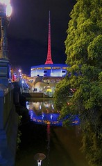 The Art Centre Melbourne. (maginoz1) Tags: winter july australia nightlife gumtree 2014 canong16 aids2014conferencemelbourne
