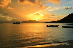 Cane Garden Bay Sunset (Sweetlassie) Tags: sunset tortola bvi canegardenbay