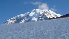 Mt. Rainier Above Flett Glacier (Mike Dole) Tags: cascades washingtonstate observationrock mtrainiernationalpark spraypark flettglacier