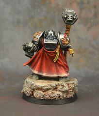 Grand Master Mordrak (Jay Adan) Tags: grey miniature space painted 28mm games 40k knights workshop warhammer marines custom