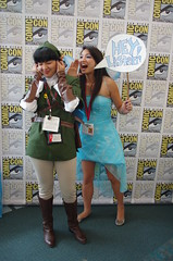 SDCC 2014 JPEG 1697 (Photography by J Krolak) Tags: california costume cosplay sprite pixie fairy link masquerade navi legendofzelda comiccon2014 sdcc2014 sandiegocomiccon2014