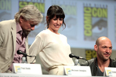Michael Douglas, Evangeline Lilly & Corey Stoll (Gage Skidmore) Tags: california man reed paul michael san comic ant diego center corey lilly convention douglas con peyton evangeline rudd 2014 stoll antman