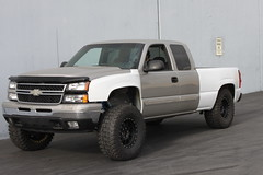 Chevy Silverado Long Travel Race Kit (BajaKits) Tags: travel truck gm long offroad suspension chevy trucks baja silverado motorsports prerunner brenthel