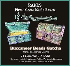 ! !SSD Buccaneer Gatcha RARES (SaxShepherd) Tags: secondlife gacha gatcha saxshepherddesigns fantasygachacarnival