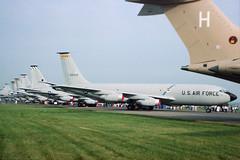 1958 Boeing KC-135Q Stratotanker 58-0129 - USAF 9 SRW - RAF Fairford 1985 (anorakin) Tags: 1958 boeing usaf aar ara fairford riat raffairford airtattoo stratotanker flyingtanker kc135a kc135q airrefuelling 9srw 580129 9thsrw
