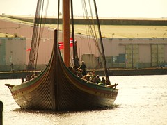 Dragon Harold Fairhair (bikerchick2009) Tags: water norway liverpool docks river wooden sailing ship transport replica viking mersey warship wirral norse merseyside