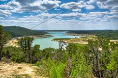 Zipping on Five... (OscarAmos) Tags: water austin landscape texas hdr lightroom 18200mm photomatix tonemapped detailenhancer topazadjust nikond5100 oscaramosphotography