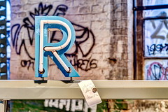 R is the letter
