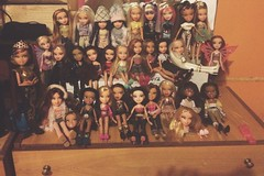 All my bratz collection (seraphimaprite) Tags: flowers fashion kiana concert katia leah dana collection nora phoebe jade hollywood sasha yasmin mga bratz cloe nevra meygan pixiez