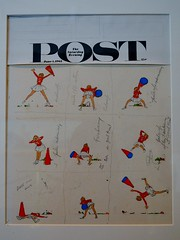 Norman Rockwell Museum displays Saturday Evening Post covers