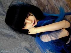 Kazuki Naga [Dollzone Mo] (angel_vortex) Tags: blue black ball doll mo bjd naga kazuki 2014 jointed balljointeddoll dollzone angelvortex angelvortexdolls
