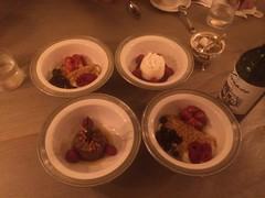 Caribbean Desert (Jonathan Rolande) Tags: dinner desert wine image cream free strawberries tasty spoon bowl dining caribbean freeimage