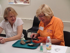 2014 Teacher Workshops 4 (Partnership for the Delaware Estuary) Tags: water ecology boats outdoors camden science teacher explore workshop oysters environment mussels learn waterquality handson adventureaquarium