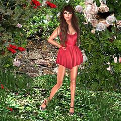 Lipstick Dreams (Juicyfruit Diaries) Tags: life pink red summer feet june shopping dress acid letters birth mandala audrey second lipstick brunette tease exile hush hepburn hypnotic slink teefy pinkacid lagyo collabor88