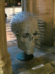 Stripped to the Bone (pefkosmad) Tags: sculpture art modernart exhibition gloucestershire gloucester davidmach gloucestercathedral crucible2 strippedtothebone crucibleexhibition