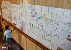 87. Галерея детских рисунков