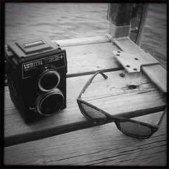 2014 Summer Hovey-2 (Ennev) Tags: camera summer bw sunglasses square glasses iphone cameraporn iphoneography