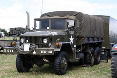 Kaiser Jeep Reo M35 EAS239/8114M3 (NTG's pictures) Tags: show jeep military trust vehicle and trucks kaiser fighting society warwickshire tanks alvis reo firepower 2014 m35 dunchurch m35a1 eas2398114m3