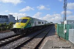 4008 departs Portlaoise, 7/9/14 (hurricanemk1c) Tags: irish train rail railway trains railways caf irishrail intercity 2014 portlaoise mark4 iarnród 4008 éireann iarnródéireann 1000heustoncork