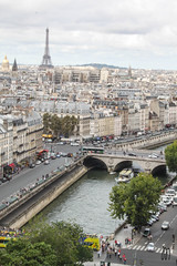 Seine. (Mariasinmaas) Tags: bridge paris france tower love water rio seine river puente agua torre eiffel lovely notre dame francia sena