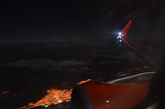 EasyJet Over Turkey (Bristol Airport Spotter) Tags: window night turkey dark lights town inflight view wing easyjet a320 sharklet gezwl