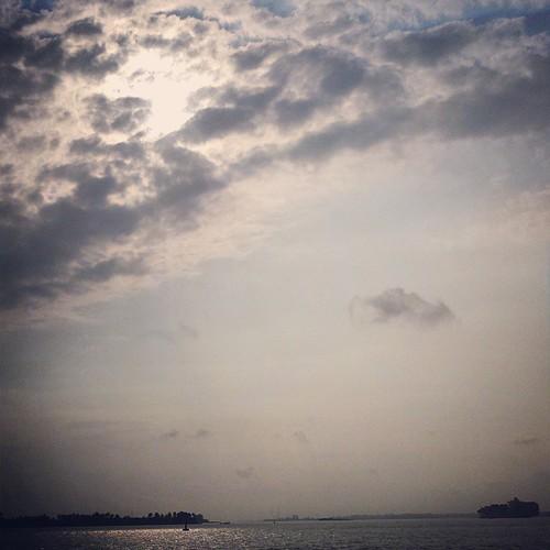 Wolken, oftewel wat afkoeling in deze tropische hitte