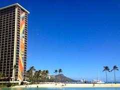 Waikiki (halemikale) Tags: waikiki honolulu hiltonhawaiianvillage rainbowtower halemikale