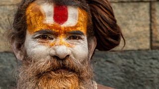 Baba at Pashupatinath Temple 2 - Kathmandu