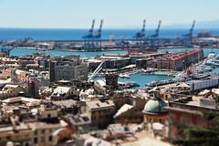 Genoa (michael_hamburg69) Tags: italien italy port harbor harbour liguria genoa genova hafen genua ligurien viewfromspianatacastelletto