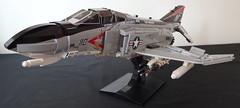 Phantom F4-B VF-161 (bricktrix) Tags: lego phantom2 phantomf4 legojet legophantom legophantomf4