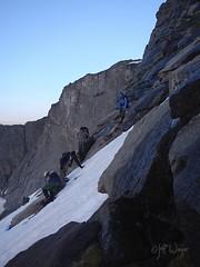 Climbing Mount Hooker