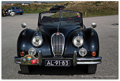 Jaguar XK120 (zweiblumen) Tags: classic netherlands car isleofman niarbyl polariser ellanvannin jaguarxk120 canoneos50d zweiblumen nyarbyl al9183