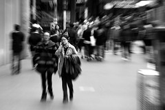 warp of time | MELBOURNE (runaway photographs) Tags: city travel beautiful canon photography experimental raw crowd photojournalism documentary australia melbourne blurred victoria mobilephone vic capture aus mustsee asiangirls 60d