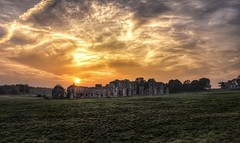 Sunset over Castle Acre priory in Norfolk (Gary Pearson landscape photography) Tags: