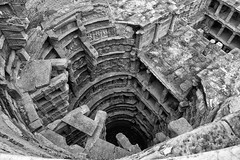 Queen's Step Well_2 (mehtasunil) Tags: fujifilm patan gujarat stepwell indiapictures xe1 heritagecity
