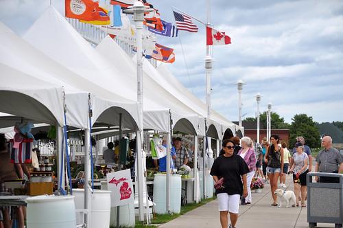 Vantage Point Farmers Market Port Huron by Michigan Municipal League